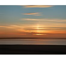 Somerset Sunset Photographic Print