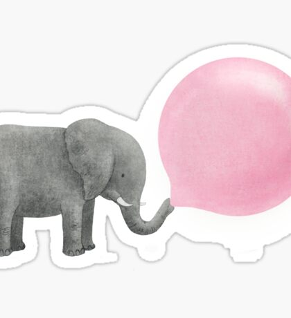 Jumbo Bubble Gum Sticker