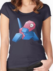 Pokemon - Porygon Women's Fitted Scoop T-Shirt
