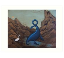 Ugly Duckling Art Print