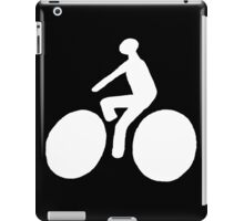 White bike iPad Case/Skin