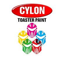 Cylon Toaster Paint Photographic Print