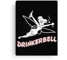 Drinkerbell - Tinker bell Canvas Print