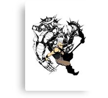 Polnareff and Silver Chariot Canvas Print