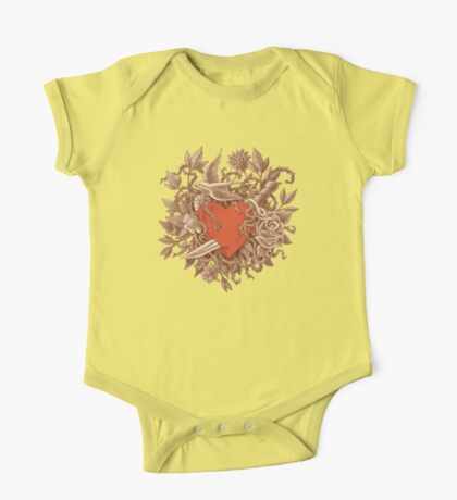 Heart of Thorns  One Piece - Short Sleeve