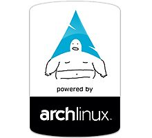 Powered By Arch Linux Photographic Print