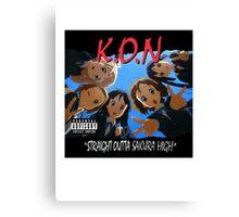 K.O.N Canvas Print