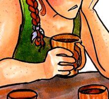 Early Morning Elf Sticker