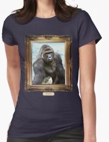 Remember Harambe. Justice For Harambe Womens Fitted T-Shirt