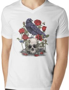Memento Mori  Mens V-Neck T-Shirt