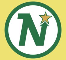 MINNESOTA NORTH STARS HOCKEY RETRO Baby Tee