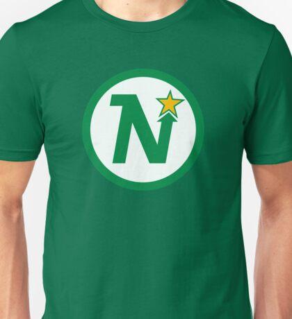 MINNESOTA NORTH STARS HOCKEY RETRO Unisex T-Shirt