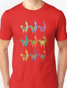 Llama party Unisex T-Shirt