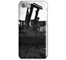 Boat at Dungeness, Kent, England iPhone Case/Skin