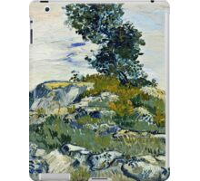 Vincent Van Gogh -  Rocks, 1888  iPad Case/Skin