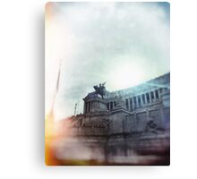 architecture in Rome Canvas Print