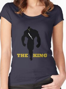 The King of Muay Thai Women's Fitted Scoop T-Shirt