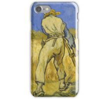 Vincent Van Gogh -  Reaper 1890 iPhone Case/Skin