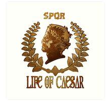 Caesar Insignia Art Print