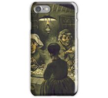 Vincent Van Gogh -  Potato Eaters iPhone Case/Skin