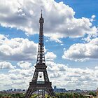 Eiffel Tower, Paris, France by Elaine Teague