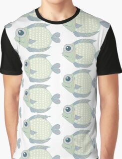 A Cool Fish Graphic T-Shirt