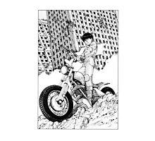 Akira Kaneda Biker Photographic Print