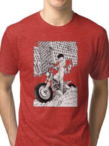 Akira Kaneda Biker Tri-blend T-Shirt