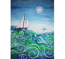 Sailing by Jan Marvin Photographic Print