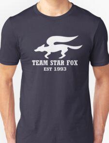 Star Fox Emblem White Unisex T-Shirt