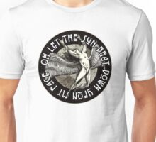 ICARUS THROWS THE HORNS - monochrome NEW DESIGN Unisex T-Shirt