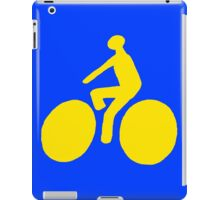 Yellow bike iPad Case/Skin