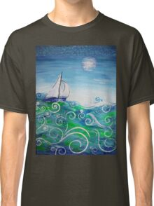 Sailing by Jan Marvin Classic T-Shirt