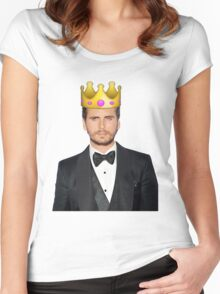 Lord Disick | Crown Emoji Women's Fitted Scoop T-Shirt