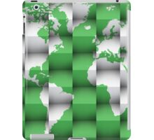 3d World map composition 1 iPad Case/Skin