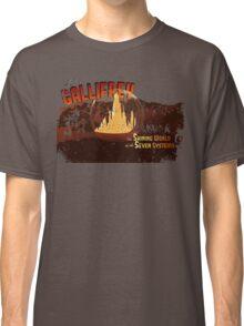 Visit Timeless Gallifrey (Worn) Classic T-Shirt
