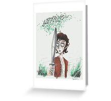 Frodo Greeting Card