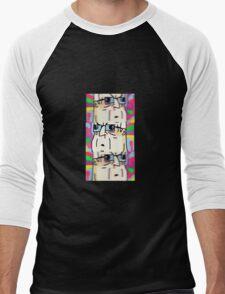 BIG LEZ SHOW TRIPPED OUT DESIGN  Men's Baseball ¾ T-Shirt