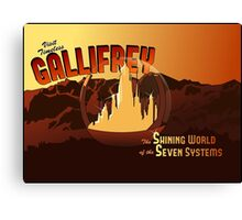 Visit Timeless Gallifrey (New) Canvas Print