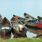 Parking Boats by Jola Martysz