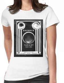 Vintage Kodak Brownie Camera Womens Fitted T-Shirt