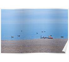 Summer Dream at Beach Poster