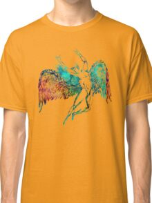ICARUS THROWS THE HORNS - WATERCOLOR Classic T-Shirt