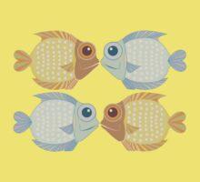 2 FISH + 2 FISH One Piece - Short Sleeve