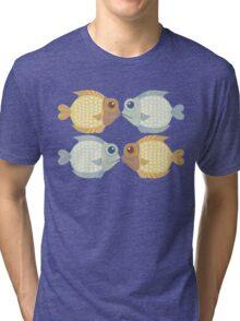 2 FISH + 2 FISH Tri-blend T-Shirt