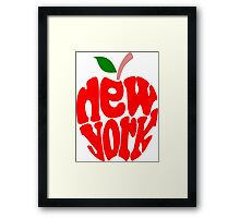 Big Apple New York Framed Print