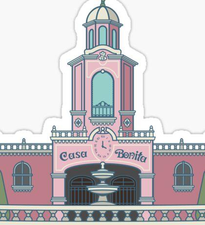 Casa Bonita Denver Sticker
