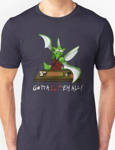 Gotta cut'em all! Unisex T-Shirt