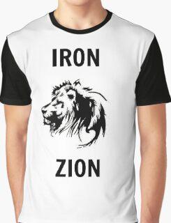 Iron,Lion,Zion Graphic T-Shirt