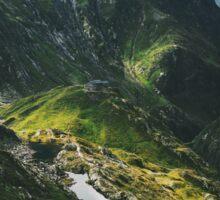Swiss Alpine Wonderland Sticker